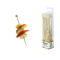 Pic bambou avec boule naturel