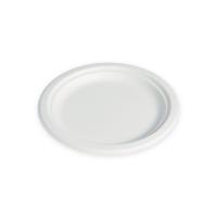 Assiette pulpe ronde blanche