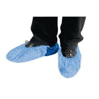 Surchaussure bleue