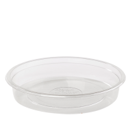 "Saladier PET rond transparent ""Saladeli"""