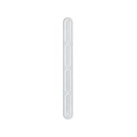 Spatule plastique PS transparente pour distribution automatique