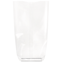 Sac transparent fond cartonné biodégradable