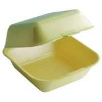 Coquille plastique PSE jaune double