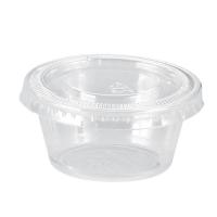 Pot plastique PS translucide