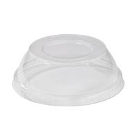 Couvercle PET transparent dôme