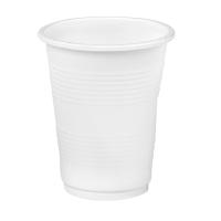 Gobelet plastique PP blanc
