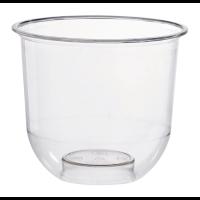 Gobelet PLA dessert transparent 360ml Ø96mm  H84mm