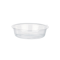 Insert plastique PET transparent pour pot