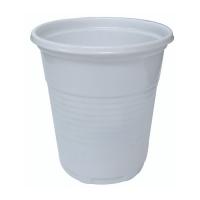 Gobelet plastique PS blanc