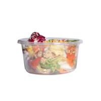 Pot Deli rond PLA transparent
