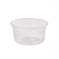 Pot Deli rond PP transparent
