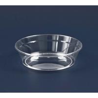 Coupe plastique PS cristal ronde
