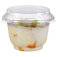 Coupe dessert plastique PET transparent