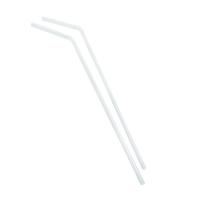 Paille plastique PP flexible transparente