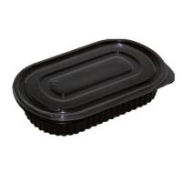 Boite repas plastique PP noire
