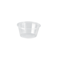 Pot plastique PET transparent