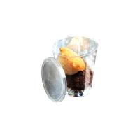 Verrine plastique ronde transparente ''Bodega''