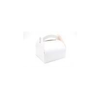 Boîte pâtissière carton blanche avec anse