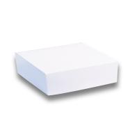 Boîte pâtissière carton blanche
