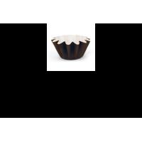 Moule de cuisson étoile papier brun