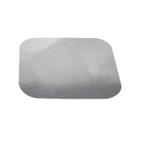 Opercule carton pour barquette aluminium