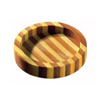 Mini assiette ronde en bambou'Cheng'  Ø50mm