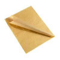Papier alimentaire brun ingraissable (10kg)  250x320mm
