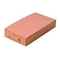 Boîte bruschetta carton kraft  300x150mm H50mm