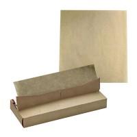 Papier alimentaire kraft en boîte distributrice  350x270mm