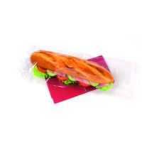 Sac sandwich PP transparent  350x140mm