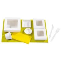 "Insert carton vert pour boîtes ""Kray""  440x270mm H25mm"