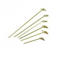 """Pique bambou boucle """"Noshi""""   H105mm"""