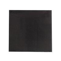 Serviette micropoint noire 2 plis  380x380mm