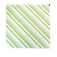 Papier alimentaire blanc ingraissable décor vert  310x320mm