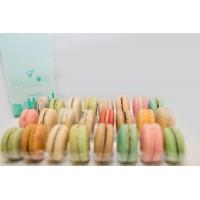 Insert plastique PET transparent 12 macarons (3x4) avec fermeture  152x138mm H20mm