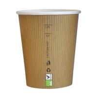 Gobelet carton PLA 'Nature Cup' 230ml Ø80mm  H92mm