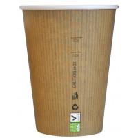 Gobelet carton PLA 'Nature Cup' 340ml Ø90mm  H108mm