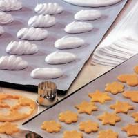 Papier cuisson papier blanc siliconé double face  600x400mm